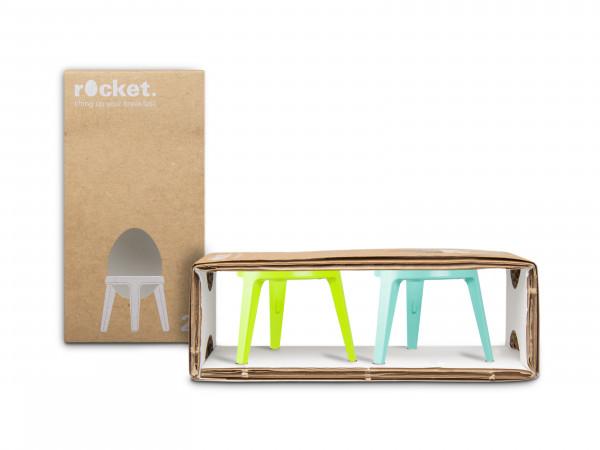 rocket / 2er-Set / Limette + Türkis