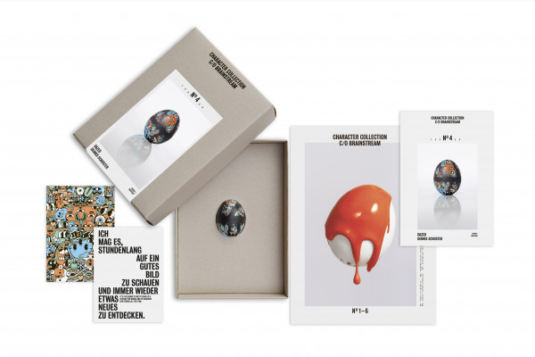 BeepEgg Dazed / Character Collection / No.4 (Collector's Box)