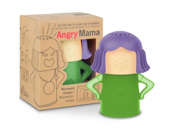 Angry Mama / Lila + Grün